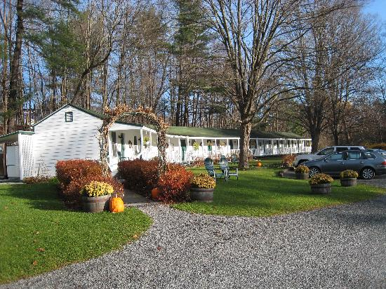 The Woodstock Inn on the Millstream: the motel-type unit