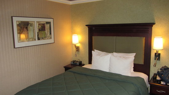 Broadway at Times Square Hotel: Queen Bed Room