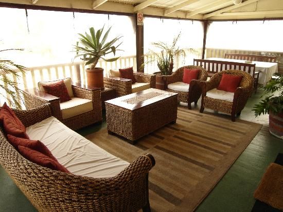 Adelaide City Park Motel: Beautiful balcony overlooking Parklands