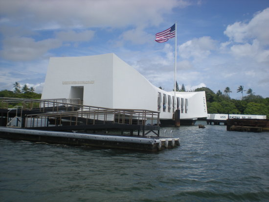 Honolulu, HI: USS Arizona Memorial