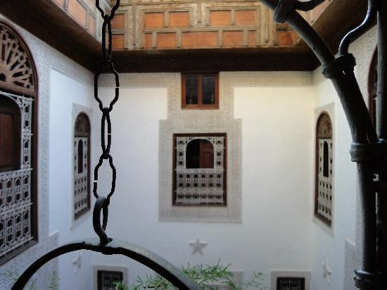 Riad Boujloud: From first floor