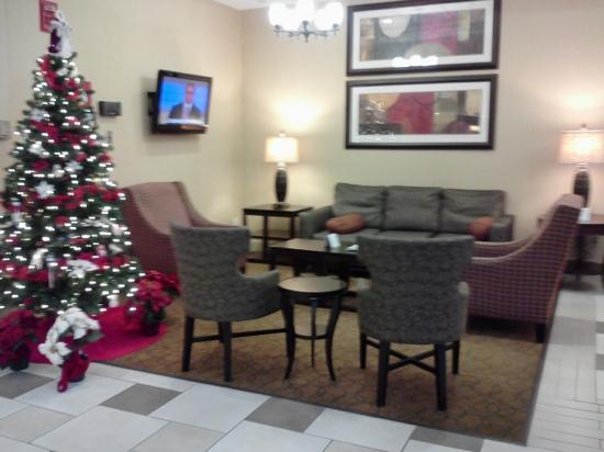 Holiday Inn Timonium: Sitting area in lobby