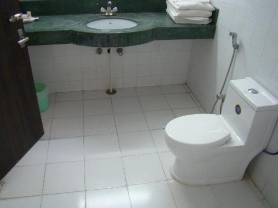 Hotel Ratnawali: The bathroom