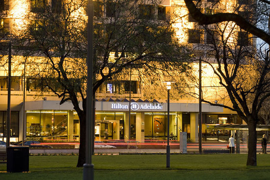 Hilton Adelaide overlooks Victoria Square