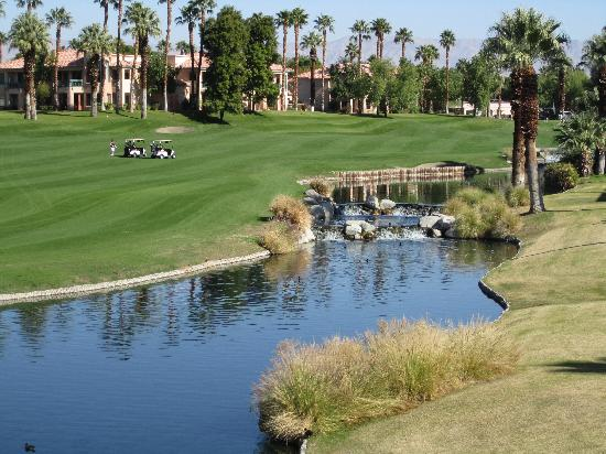 Great View Of The Golf Course Water Feature Picture Of