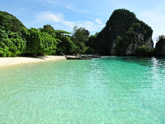 Krabi Province, Thailand: Great emerald water