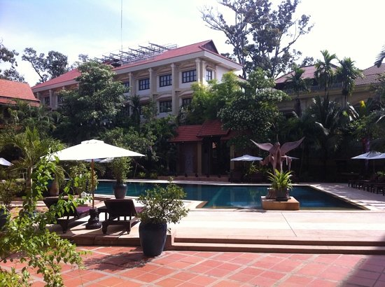 Prince D&#39;Angkor Hotel &amp; Spa: the pool