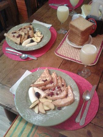 Chillout Flat Bed & Breakfast: A really nice breakfast