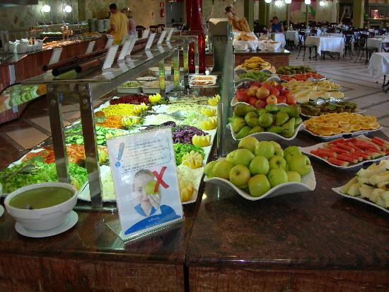 Hotel Dunas Suites and Villas Resort: great food