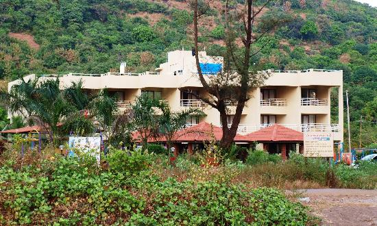 View From Our Room Picture Of Sagar Sawali Beach Resort Dapoli Tripadvisor