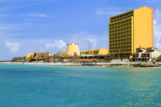 Melia Cozumel All Inclusive Golf &amp; Beach Resort: View of Melia Cozumel from the Water