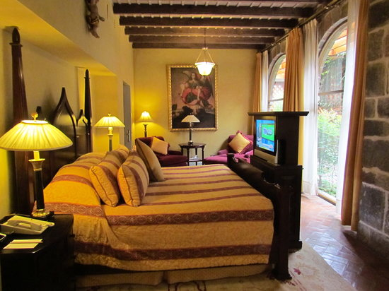 Hotel Monasterio by Orient-Express: Bedroom