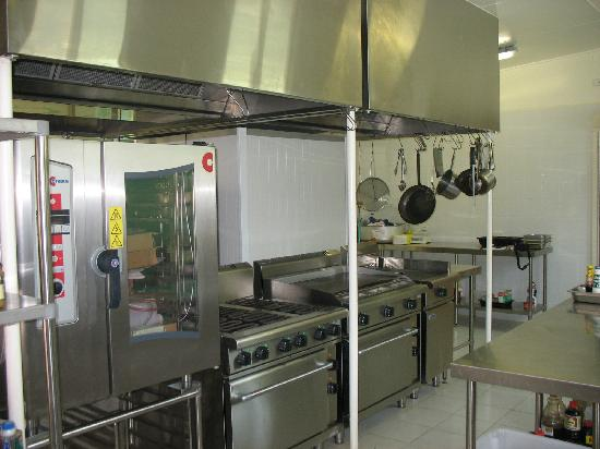 Lihir Island, Papua New Guinea: Modern.new, kitchen facilities.