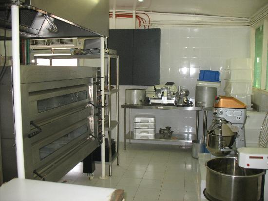 Lihir Island, Papua New Guinea: Modern, new bakery.