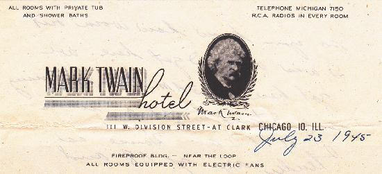 Photo of Mark Twain Hotel Chicago