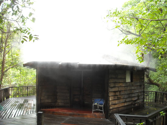 Hotel Borinquen Mountain Resort: hot spring sauna