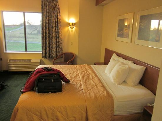 Sleep Inn &amp; Suites Hagerstown: King room
