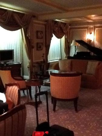 Hotel Elysee: Living area