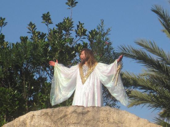 Holy Land Experience: Jesus is raised from death!