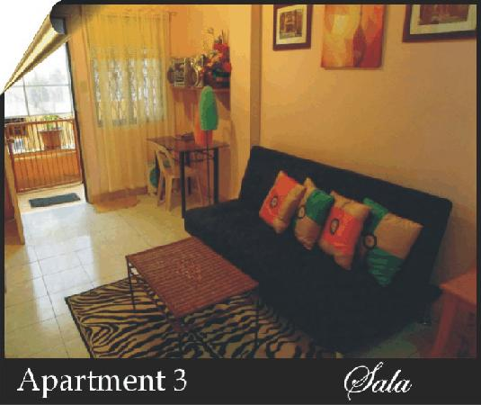 BaguioTransient House: Apartment3 Sala