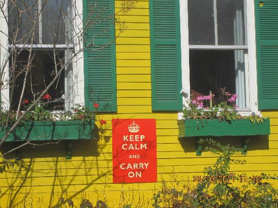 Woodstocker Inn: Owner's mantra perhaps?
