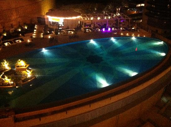 Swimming Pool By Night Picture Of The Address Dubai