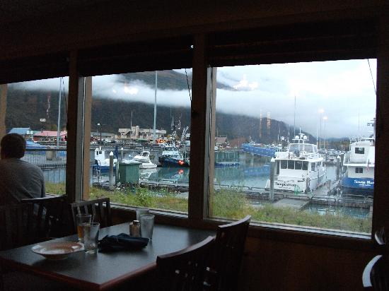 BEST WESTERN Valdez Harbor Inn: view from restuarant