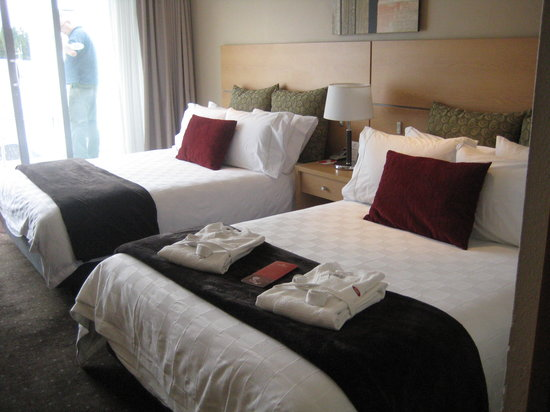 Crowne Plaza Queenstown: Room facilities