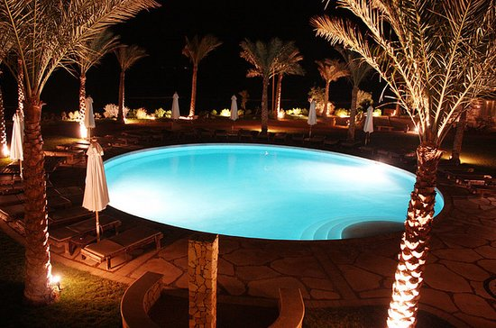 Dahab Paradise: View from room at night