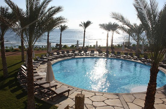 Dahab Paradise: View from room during the day