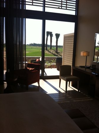 The Westin Abu Dhabi Golf Resort & Spa: golf view