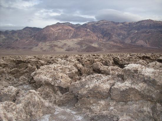 Furnace Creek Campground: Devil's Golf Course-Death Valley
