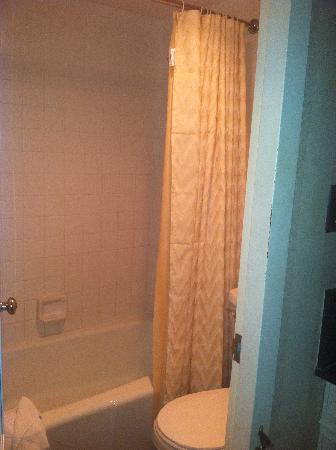 The Latham Hotel: Shower