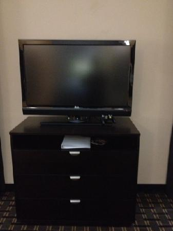 Hampton Inn & Suites Longview North: nice tv