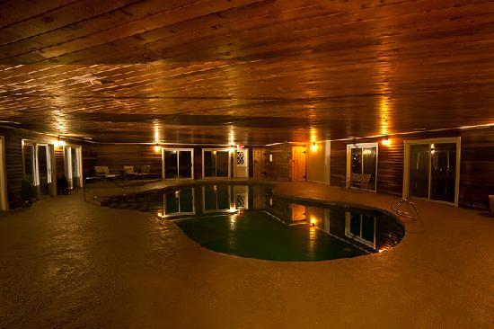 The Dana Place at Pinkham Notch: Indoor Pool at the Dana Place