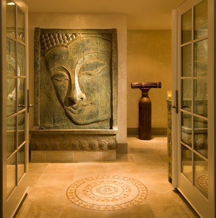 Carpe Diem Guesthouse &amp; Spa: Spa Entrance
