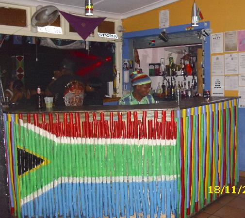 Tekweni Backpackers Hostel: Receiption / bar