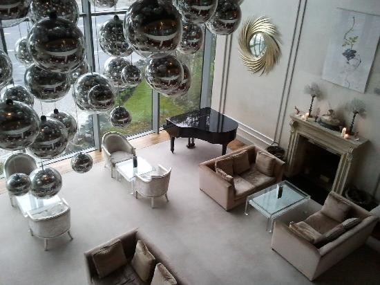The g Hotel Galway: View from the mezzanine floor