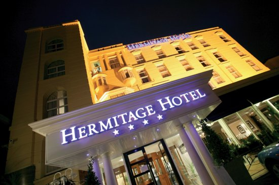 The Hermitage Hotel Bournemouth: front entrance