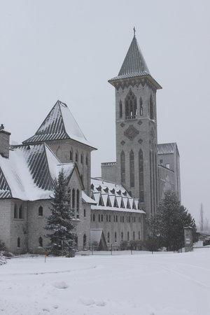 Sherbrooke, Kanada: Abbey Exterior