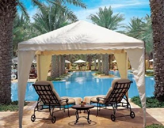 The Palace at One&Only Royal Mirage Dubai: The Palace Poolside Gazebo