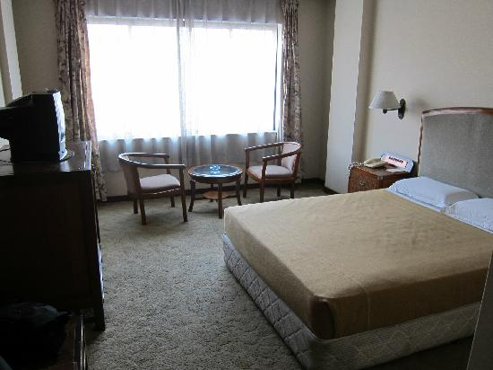 Hotel Gangjong: Room (the nicer double bed one)