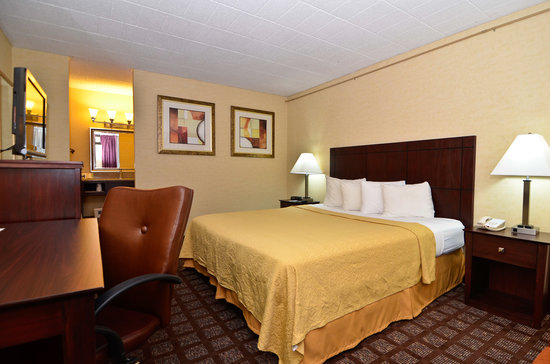 Quality Inn Pottstown: Newly renovated, spacious king room