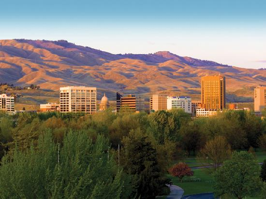 Boise skyline