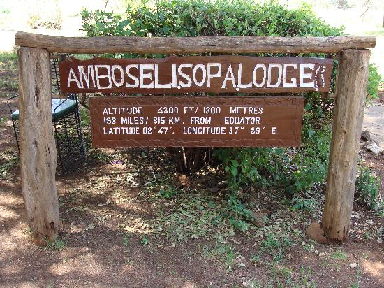 Amboseli Lodges Hotels Amboseli Sopa Lodge Cartel de