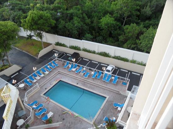 Fort Lauderdale Beach Resort: Vista da Piscina (varanda)