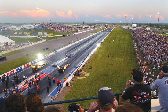 Heartland Park Topeka Raceway Dragstrip Road Course And