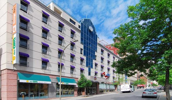 BEST WESTERN PLUS Montreal Downtown-Hotel Europa: Best Western Plus Hotel Europa Outside view