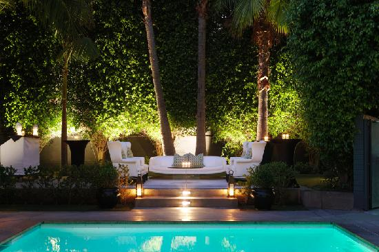 Viceroy Santa Monica: Poolside at Night