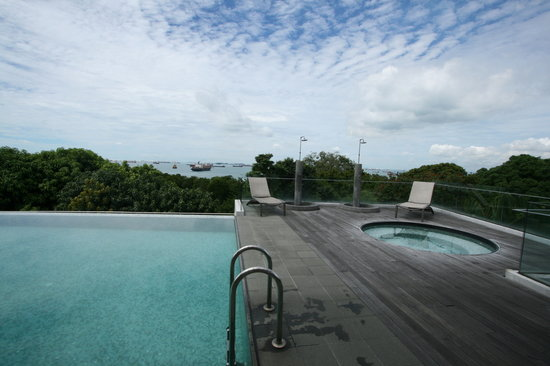 Amara Sanctuary Resort Sentosa: Rooftop Swimming pool